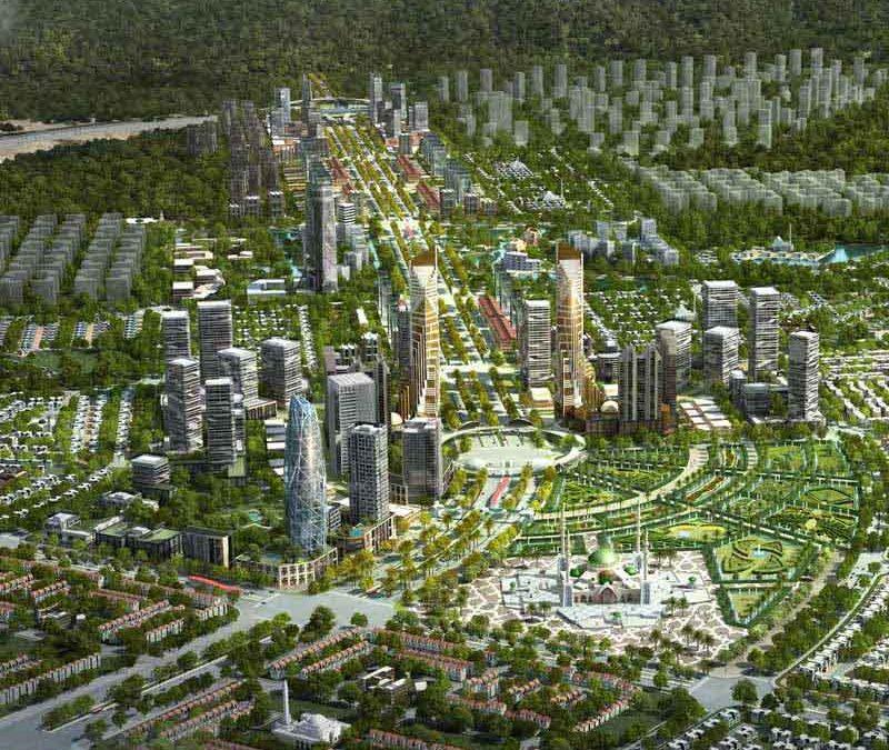 Overseas Block in Capital Smart City