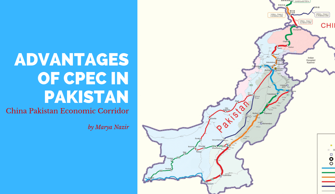 Advantages of CPEC in Pakistan