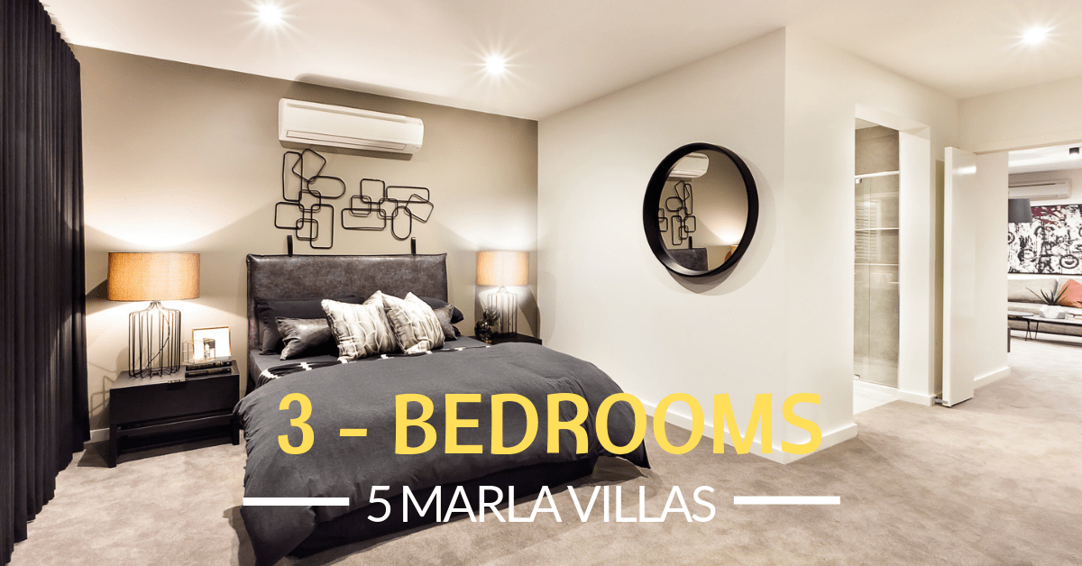 Smart Home Villas Bedrooms