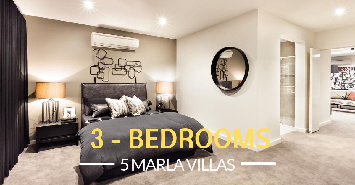 Smart Home Villas Bedrooms