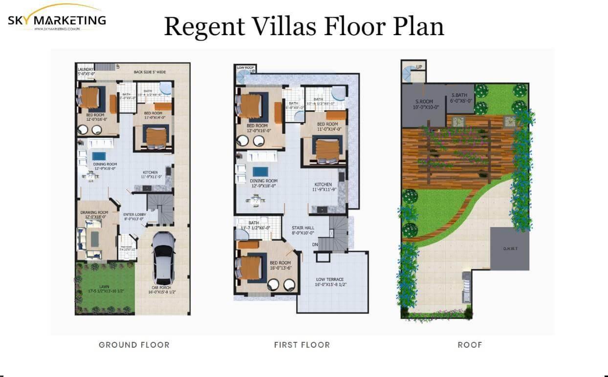 Regent Villas FloorPlan