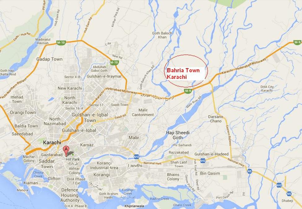 Bahria-town-karachi-map
