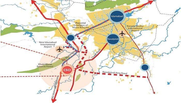 Capital-Smart-City-Location-Map