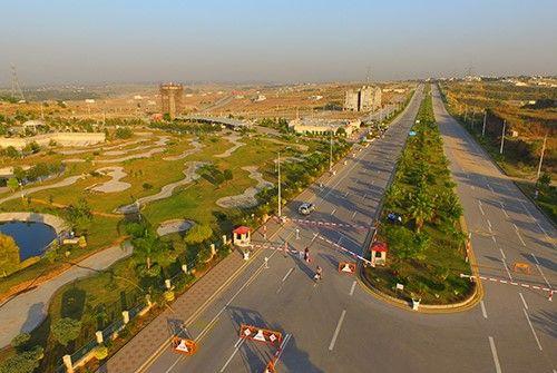 DHA Valley Islamabad Roads