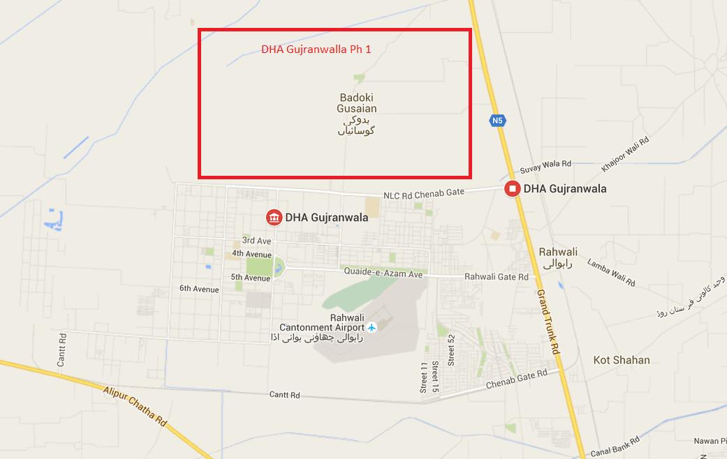 dha-guranwala-map