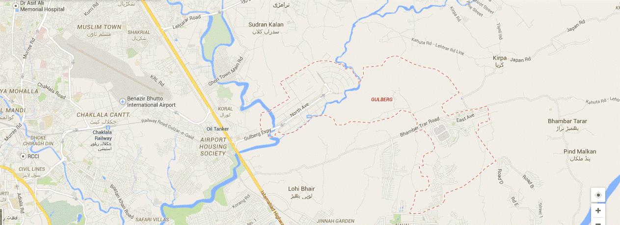 gulberg islamabad plot prices