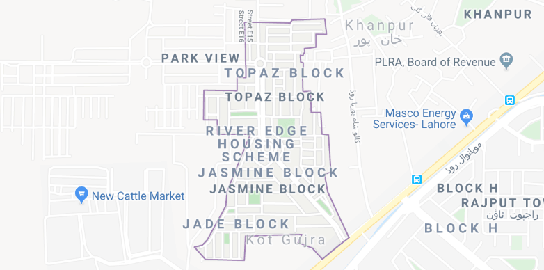 park view villas map
