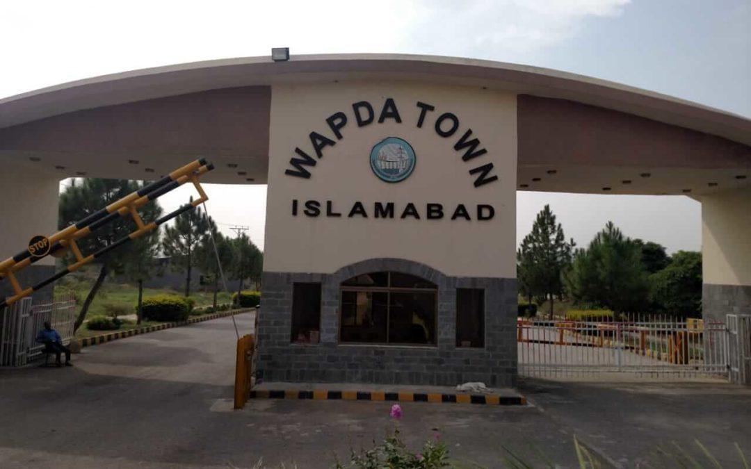 Wapda town islamabad