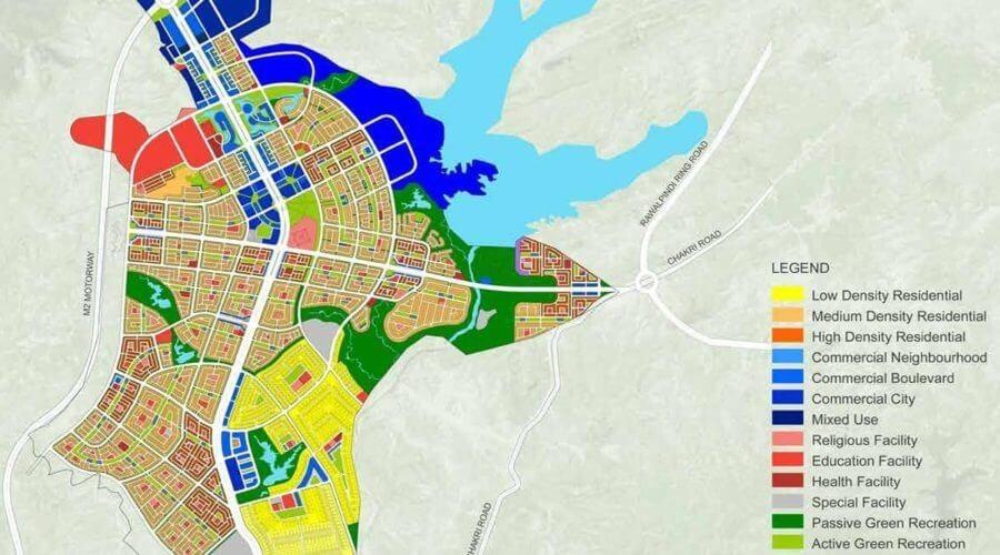 Capital smart city map