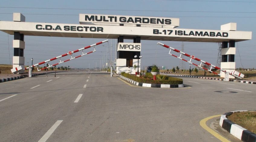 Multi-Gardens B-17 G-Block Islamabad