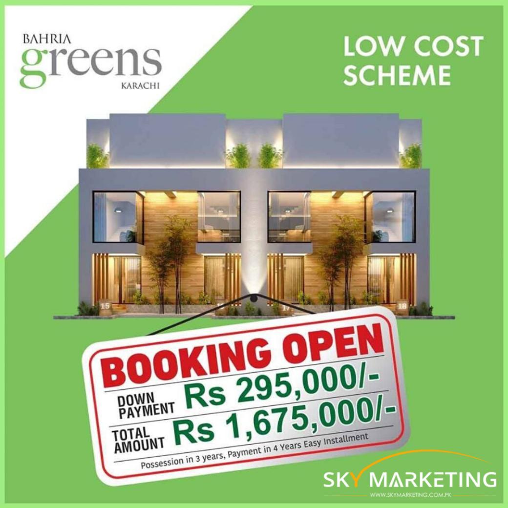 Bahria Greens Karachi Booking form